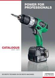 Hitachi Catalogus 2012-2014 H1 - Brammer