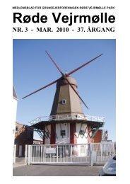 RVP-bladet, marts 2010 - Grundejerforeningen Røde Vejrmølle Park