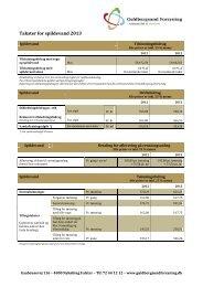 Download de aktuelle priser for afledning af spildevand