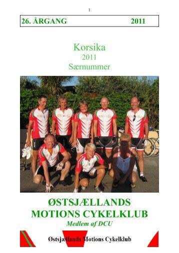 2011 Korsika(external link) - ØMC Østsjællands Motions Cykelklub