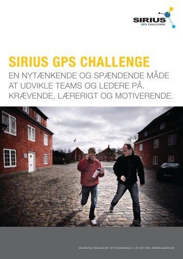 SiriuS GPS CHALLENGE