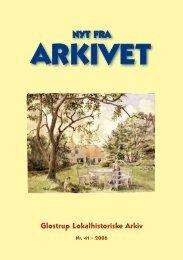 Nyt Fra Arkivet nr. 41 - Glostrup Bibliotek