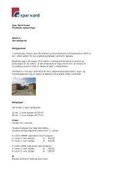 Info og priser (pdf) - Spar Nord