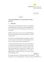 Læs hele Civilstyrelsens notat - Justitsministeriet