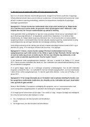 2. del: be2 svar på spørgsmål stillet af Troels Jørgensen fra DR.