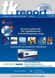 Eurocool Logistics AG - Die Logistiksparte der - Tk Report