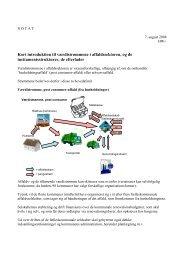 Kort introduktion til værdistrømmene i affaldssektoren, og ... - Dakofa