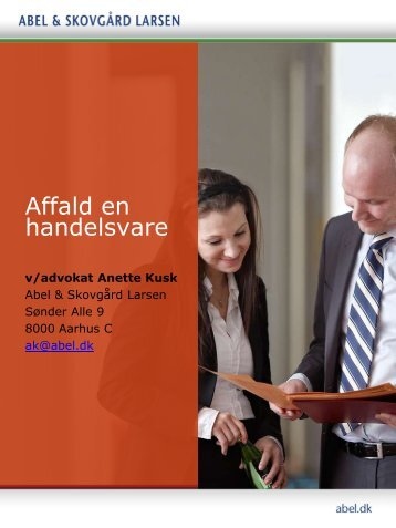 Advokat Anette Kusk, Abel & Skovgård Larsen - Miljøforum Midtjylland