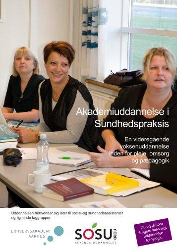 Akademiuddannelse i Sundhedspraksis - SOSU Nord