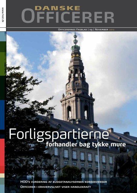 2. del - Hovedorganisationen af Officerer i Danmark