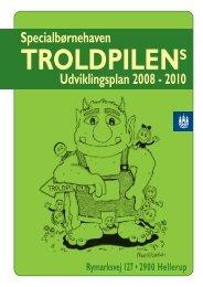 Specialbørnehaven Udviklingsplan 2008 - 2010 - Københavns ...