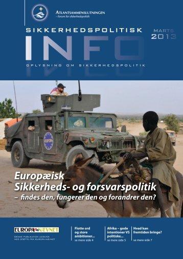 Europæisk sikkerheds- og forsvarspolitik