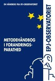 Metodehåndbog – Forandringsparathed - EPJ-Observatoriet