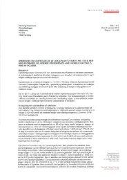 Ansøgning om udarbejdelse af lokalplan - Herning Kommune