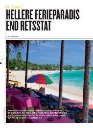 Sri Lanka: - Lotte Ladegaard