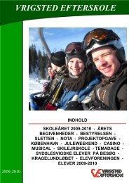 Årsskrift 2009-2010 - Vrigsted Efterskole