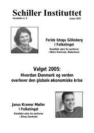 Valgprogram (PDF) - Schiller Instituttet