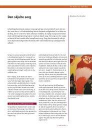 Den skjulte sorg (.pdf) - Servicestyrelsen