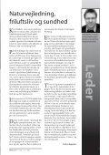 Friluftsliv og Naturvejledning - Naturvejlederforeningen i Danmark - Page 3