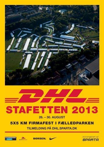 Download brochuren for 2013 her - DHL Stafetten - Sparta.dk