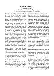 Vi Havde Håbet ... - Den Evangelisk Lutherske Frikirke