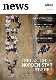 tørlastchef: NORDEN ståR stæRkt - DS Norden