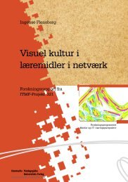 Visuel kultur i læremidler i netværk
