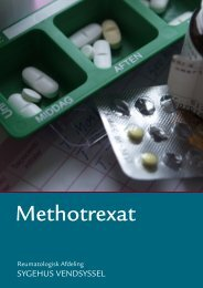 Methotrexat information - Sygehus Vendsyssel