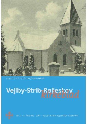kirkeblad - Vejlby-Strib-Røjleskov pastorat
