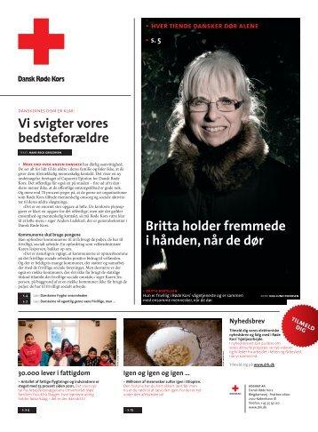 årsavis 2008 (pdf, 5 MB) - Dansk Røde Kors