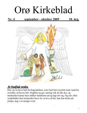 Nr. 4 september - oktober 2009 18. årg. - Orø Kirke