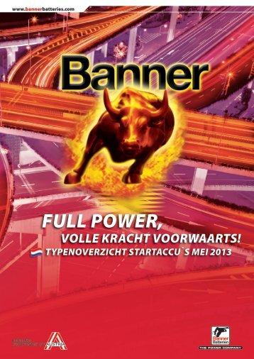Typenlijst startaccu's NL (6.4 Mb) - Banner GmbH