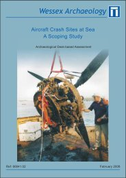 Aircraft Crash Sites at Sea - Royal Air Force