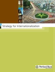 Internationalization Strategy brochure - Office of International Affairs ...