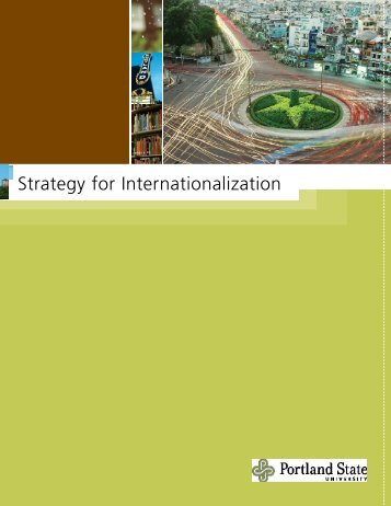 Internationalization Strategy brochure - Office of International Affairs ...