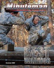 Massachusetts Minuteman - Summer 2012