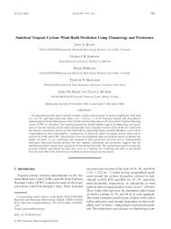 Statistical Tropical Cyclone Wind Radii Prediction Using Climatology ...