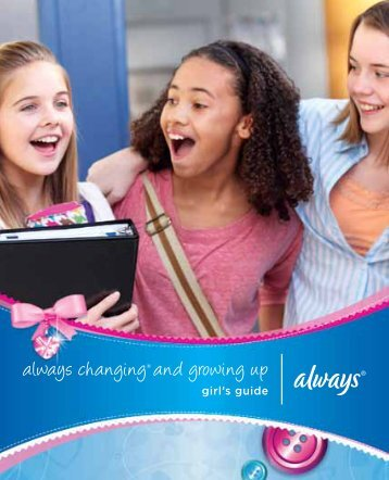 always changing® and growing up - P&G School Programs
