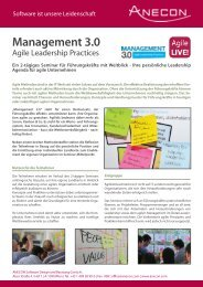 Management 3.0 - Anecon