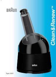 Clean & Renew - Braun Consumer Service spare parts use ...