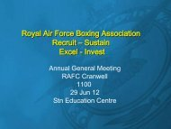 Enc 1 - Royal Air Force