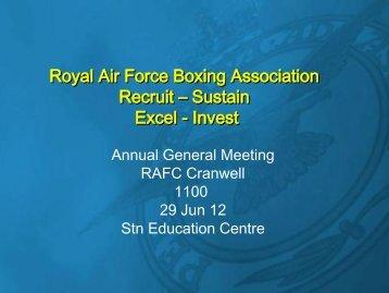 Enc 1 - Royal Air Force