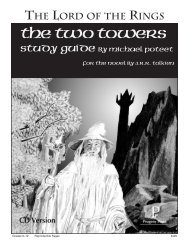 The Two Towers - Rainbow Resource Center