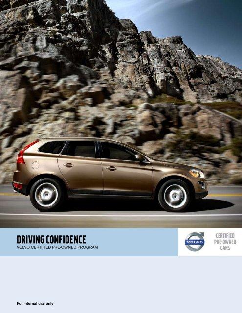 Volvo Certified Pre Owned >> 2010 Volvo Certified Pre Owned Program Brochure Pdf