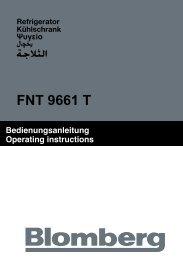 FNT 9661 T - Blomberg