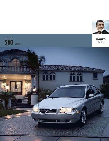 2006 Volvo S80 Brochure