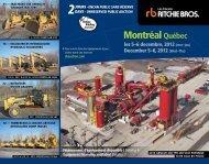 Montréal Québec - Ritchie Bros. Auctioneers