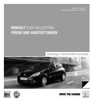 Clio Collection 2013(686 KB) - Renault Preislisten