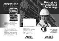 Costruire... con la migliore protezione per le mani - Ansell ...
