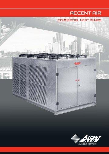 BFD4160 Accent AIr Commercial Heat Pump Brochure ... - AUMADA